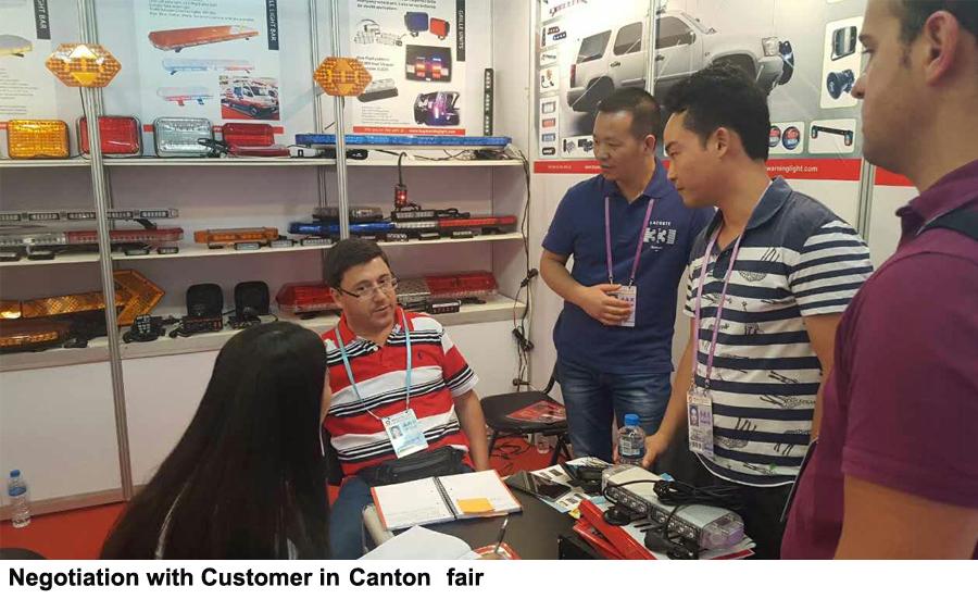 negociación con el cliente en canton fair
